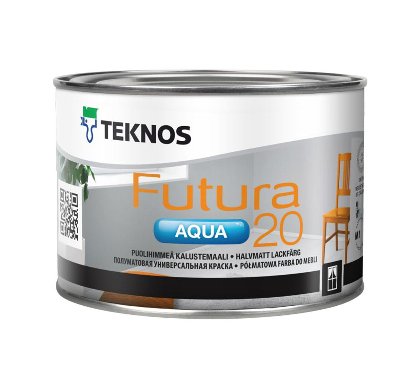 FUTURA AQUA 20 полуматовая универсальная краска
