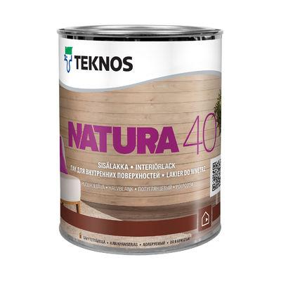 NATURA 40 полуглянцевый лак для внутренних поверхностей