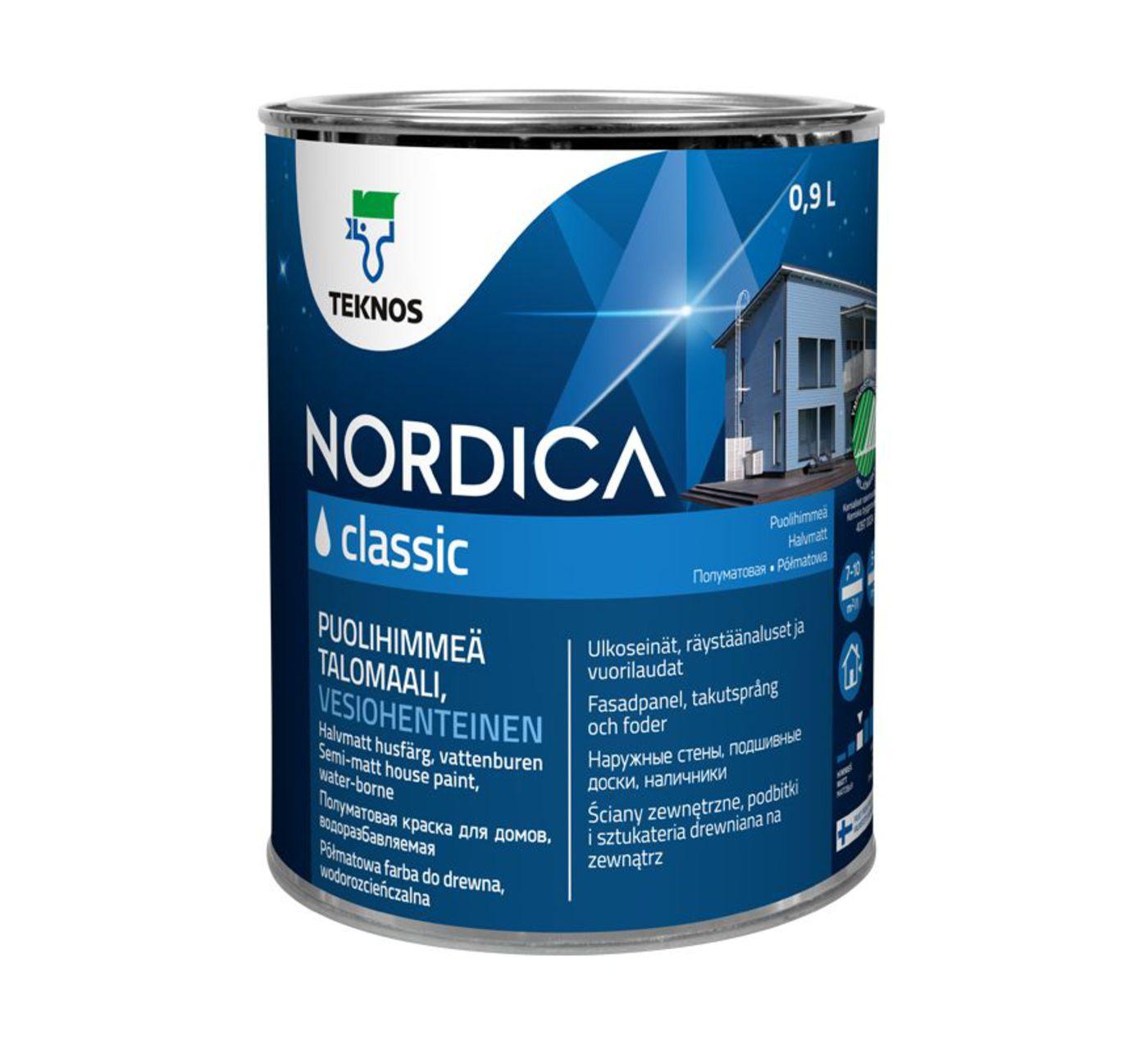 NORDICA CLASSIC краска для домов