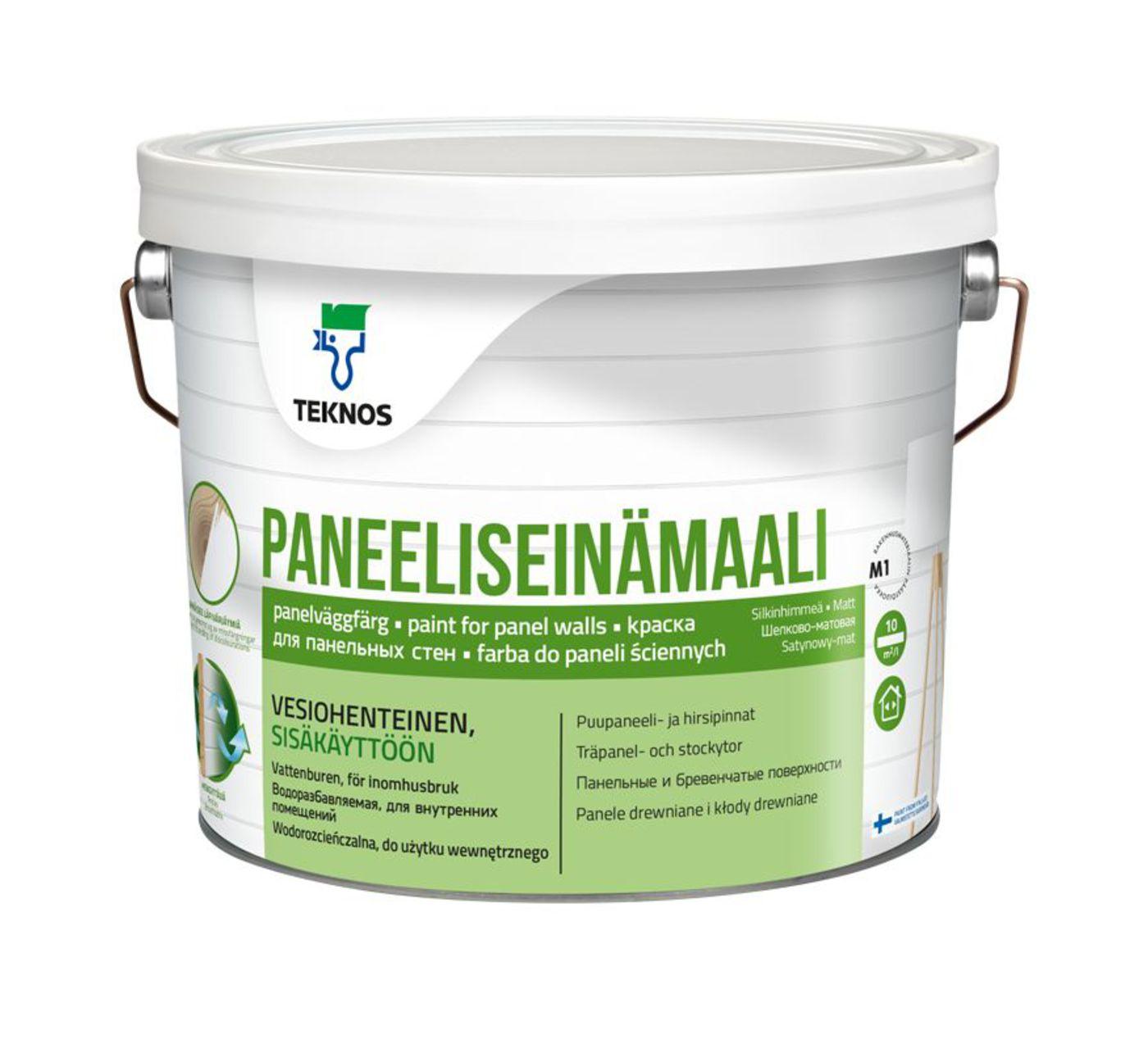 PANEELISEINÄMAALI Краска для панельных стен