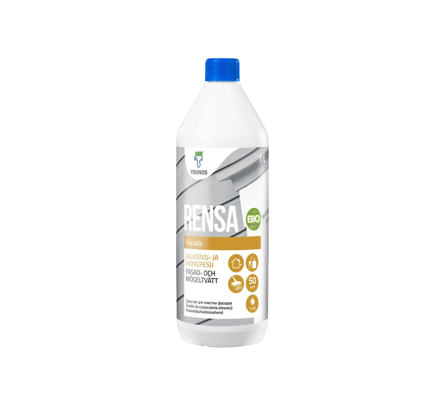 RENSA FACADE средство для очистки фасадов