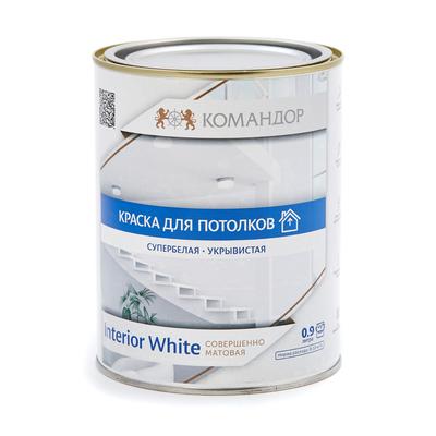 Обои Marburg Продукция Командор INTERIOR WHITE краска для потолков