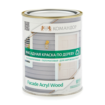 Обои Marburg Продукция Командор FAСADE ACRYL WOOD PM1 фасадная краска по дереву