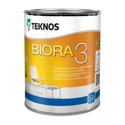 BIORA 3 совершенно матовая краска для грунтовки и потолков