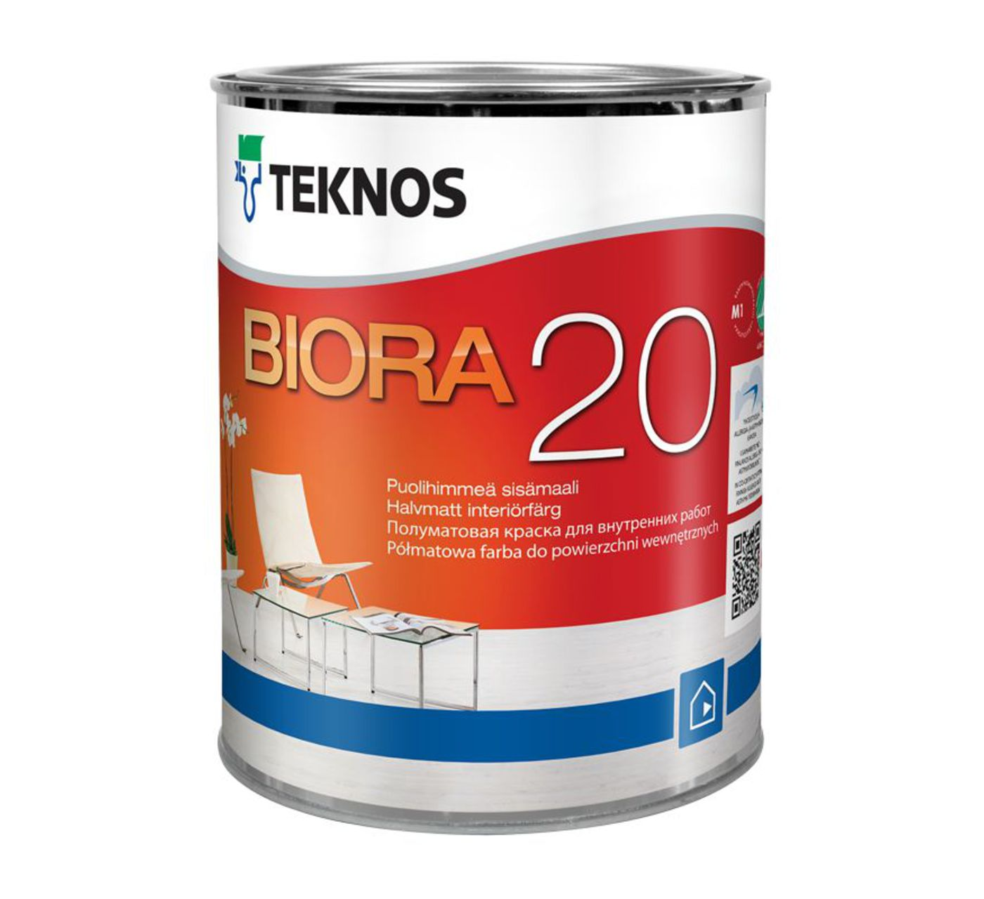 BIORA 20 полуматовая краска для внутренних стен