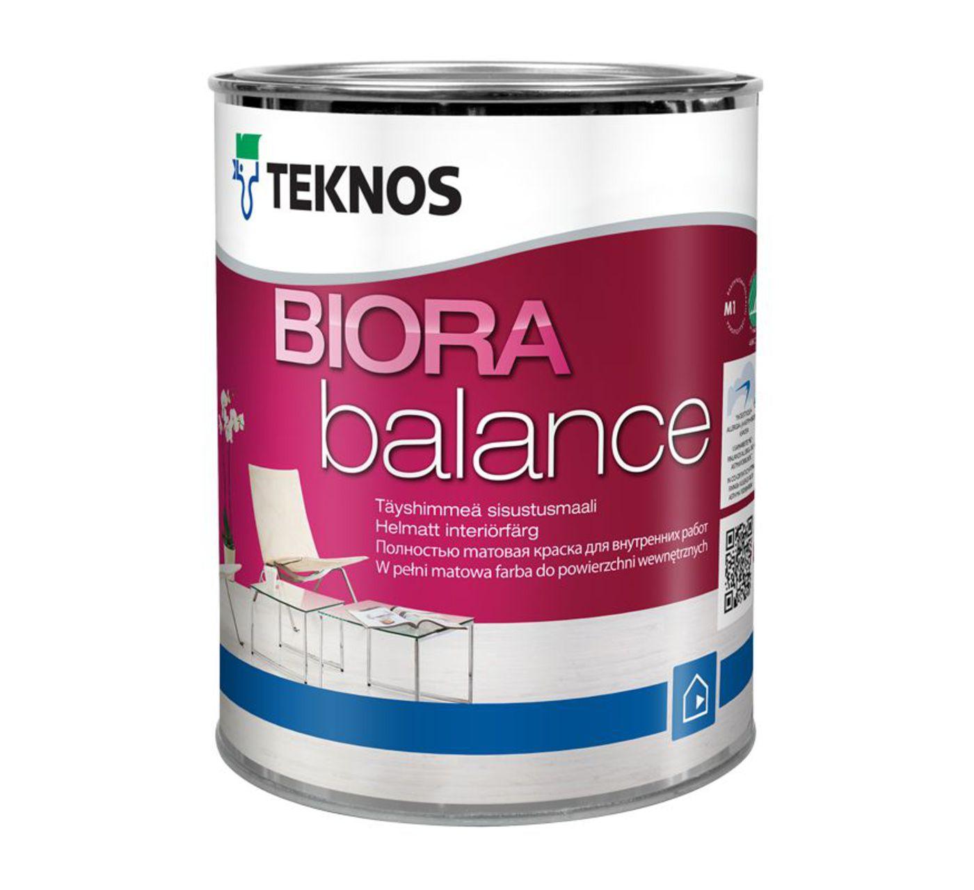 BIORA BALANCE совершенно матовая краска для внутренней отделки