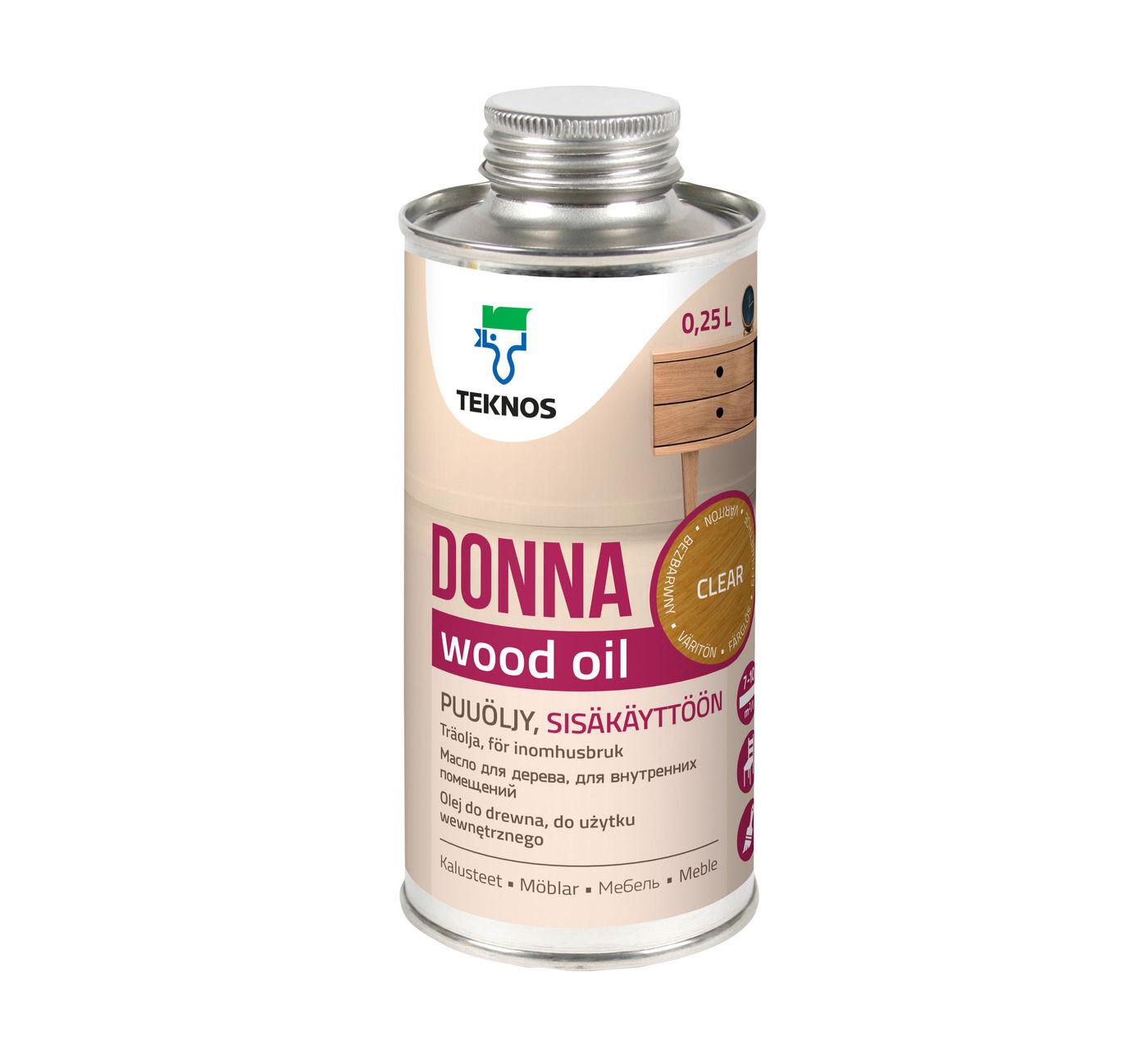 DONNA CLEAR масло для мебели