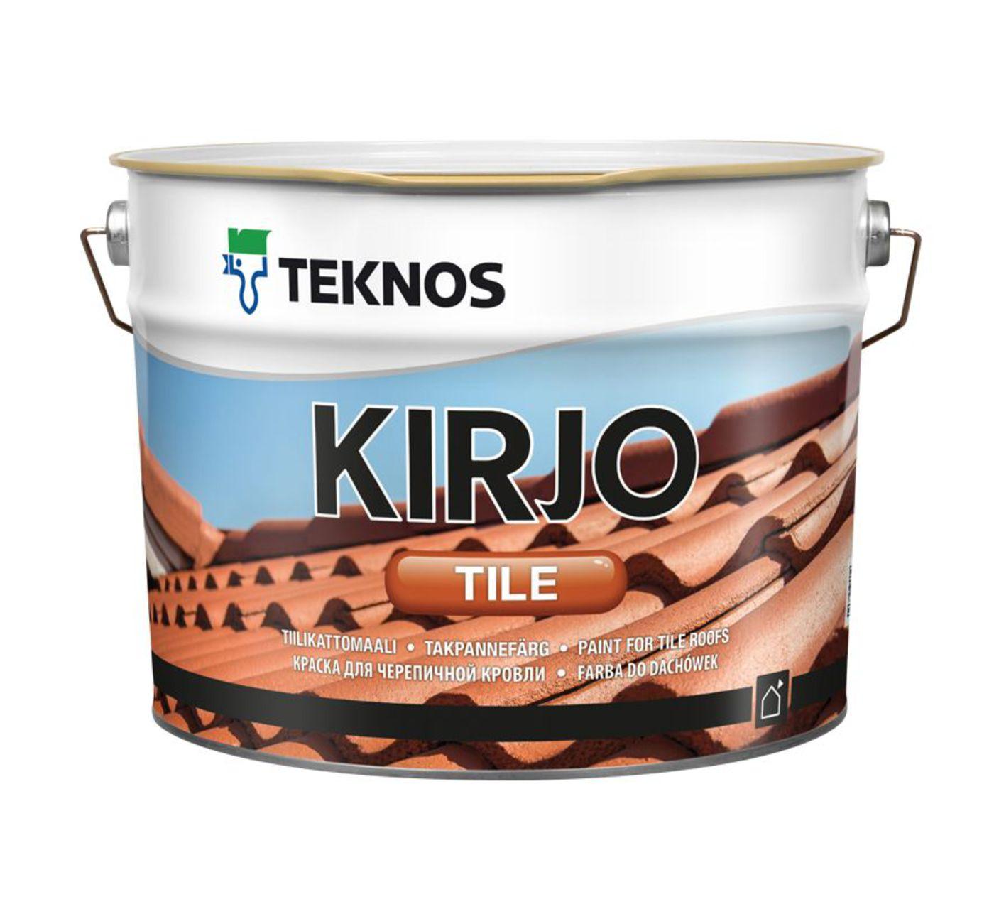 KIRJO TILE T2513 КОРИЧНЕВЫЙ краска для черепичной кровли