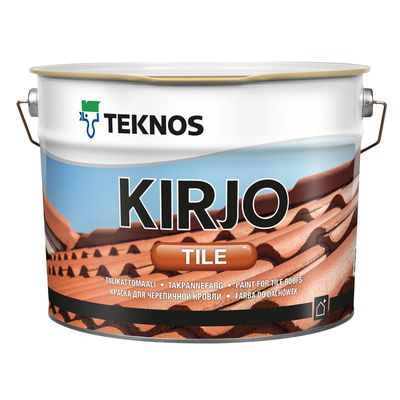 KIRJO TILE T2515 ЧЕРНЫЙ  краска для черепичной кровли
