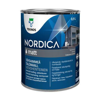 NORDICA MATT ЧЕРНАЯ краска для домов