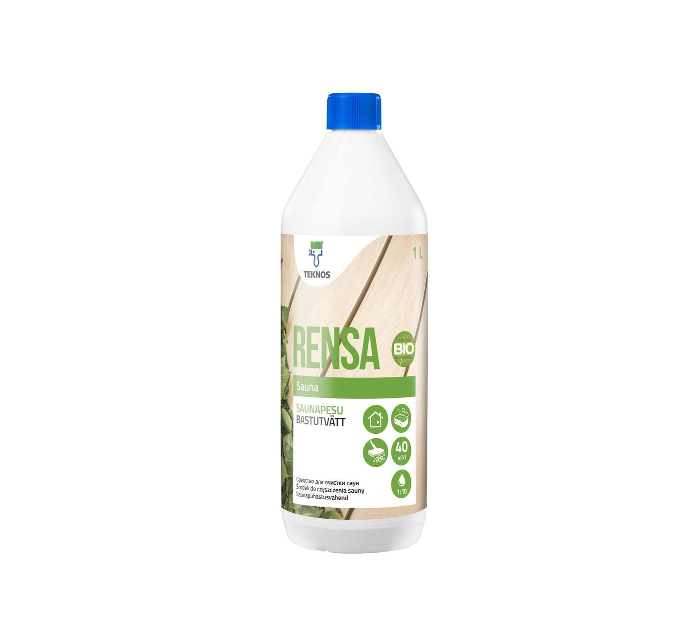 RENSA SAUNA средство для очистки саун
