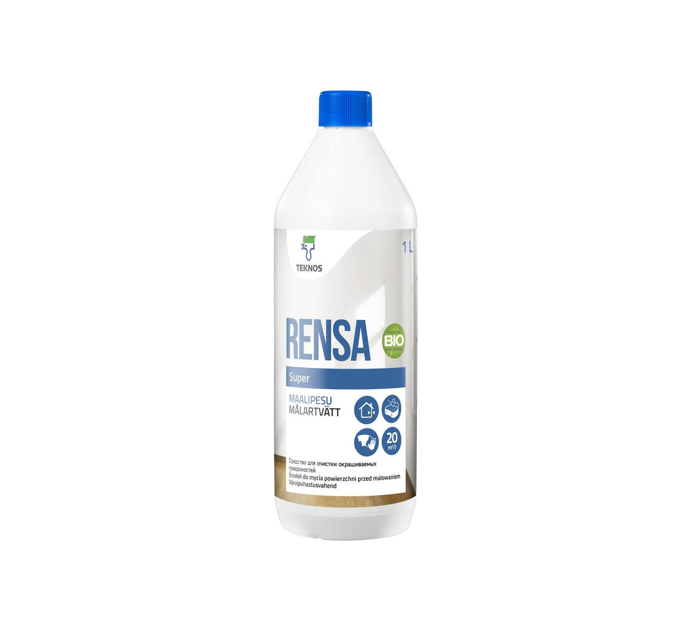 RENSA SUPER средство для очистки окрашиваемых поверхностей