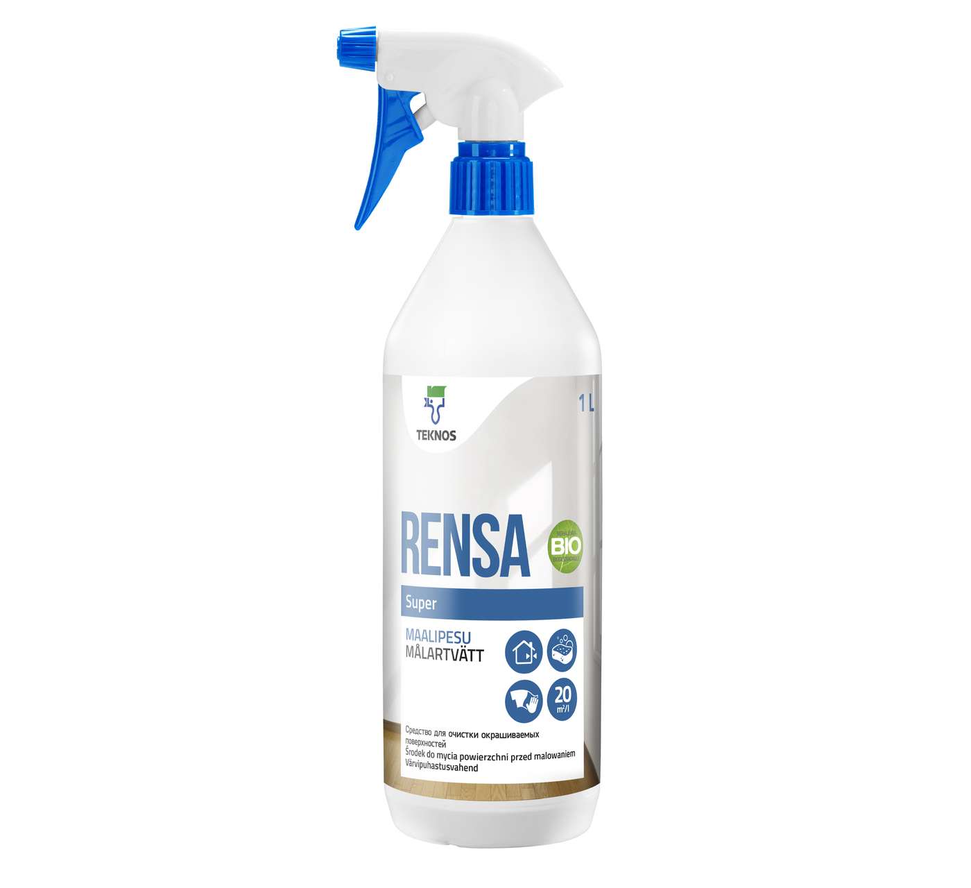 RENSA SUPER СПРЕЙ средство для очистки окрашиваемых поверхностей