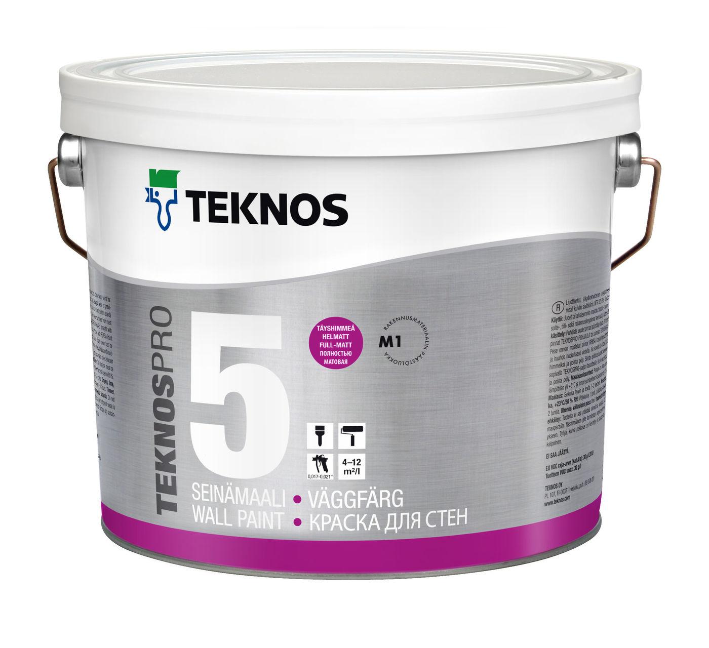 TEKNOSPRO 5 краска для стен