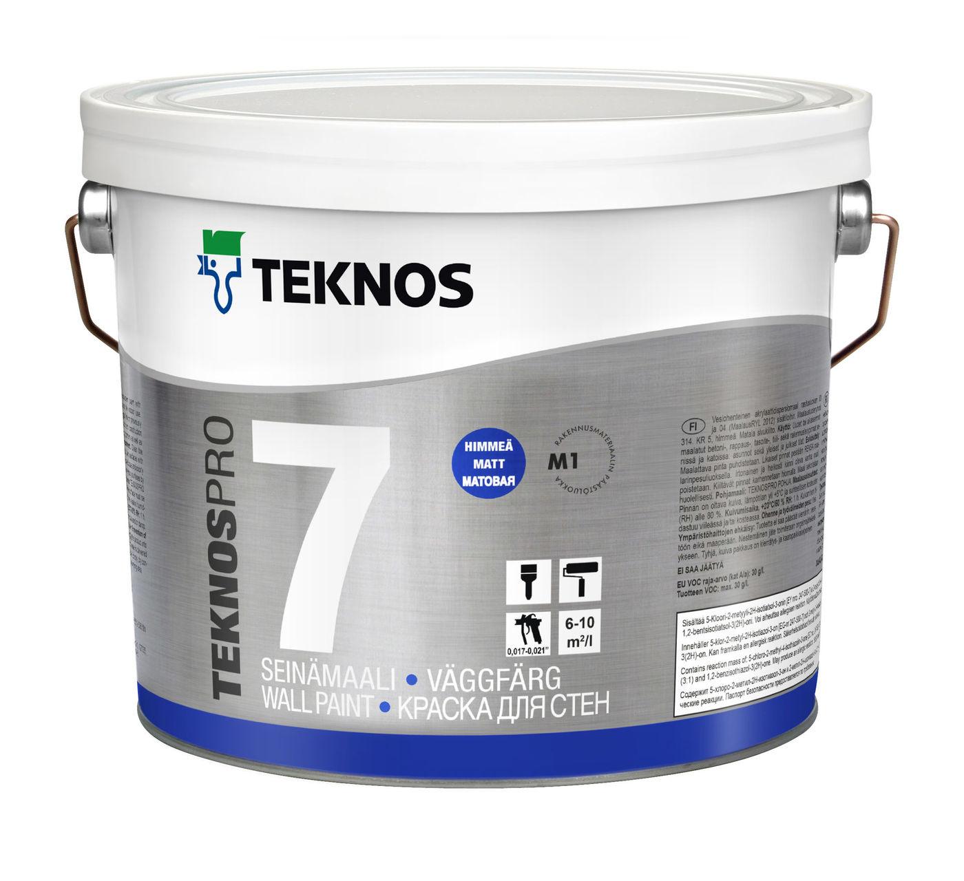 TEKNOSPRO 7 краска для стен