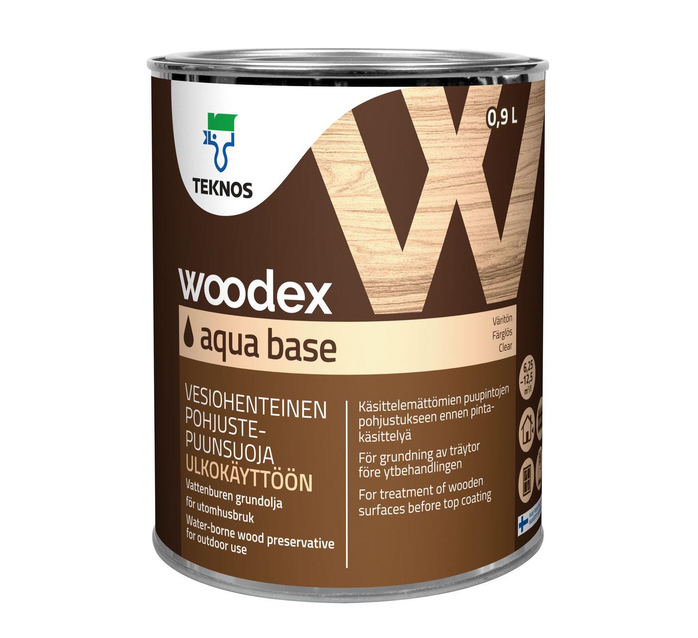 WOODEX AQUA BASE грунтовочный антисептик
