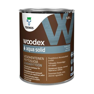 WOODEX AQUA SOLID кроющий антисептик