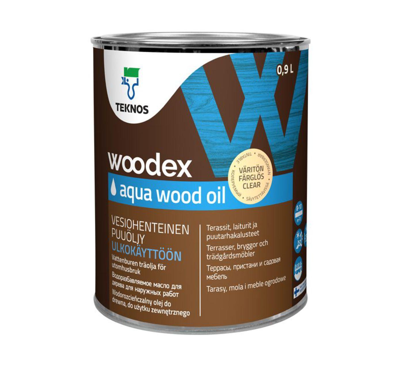 WOODEX AQUA WOOD OIL Масло для дерева
