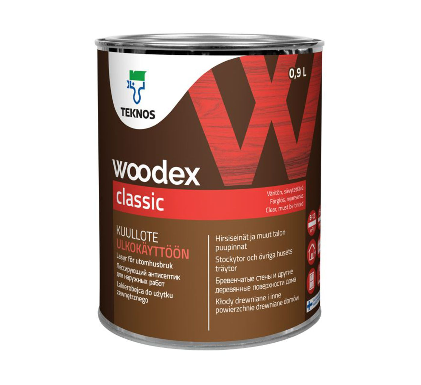 WOODEX CLASSIC лессирующий антисептик