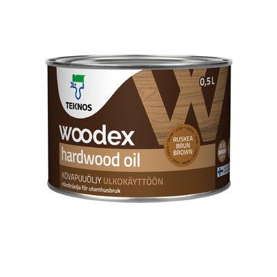 Обои Marburg Масла WOODEX HARDWOOD OIL Масло для твердых пород древесины коричневый
