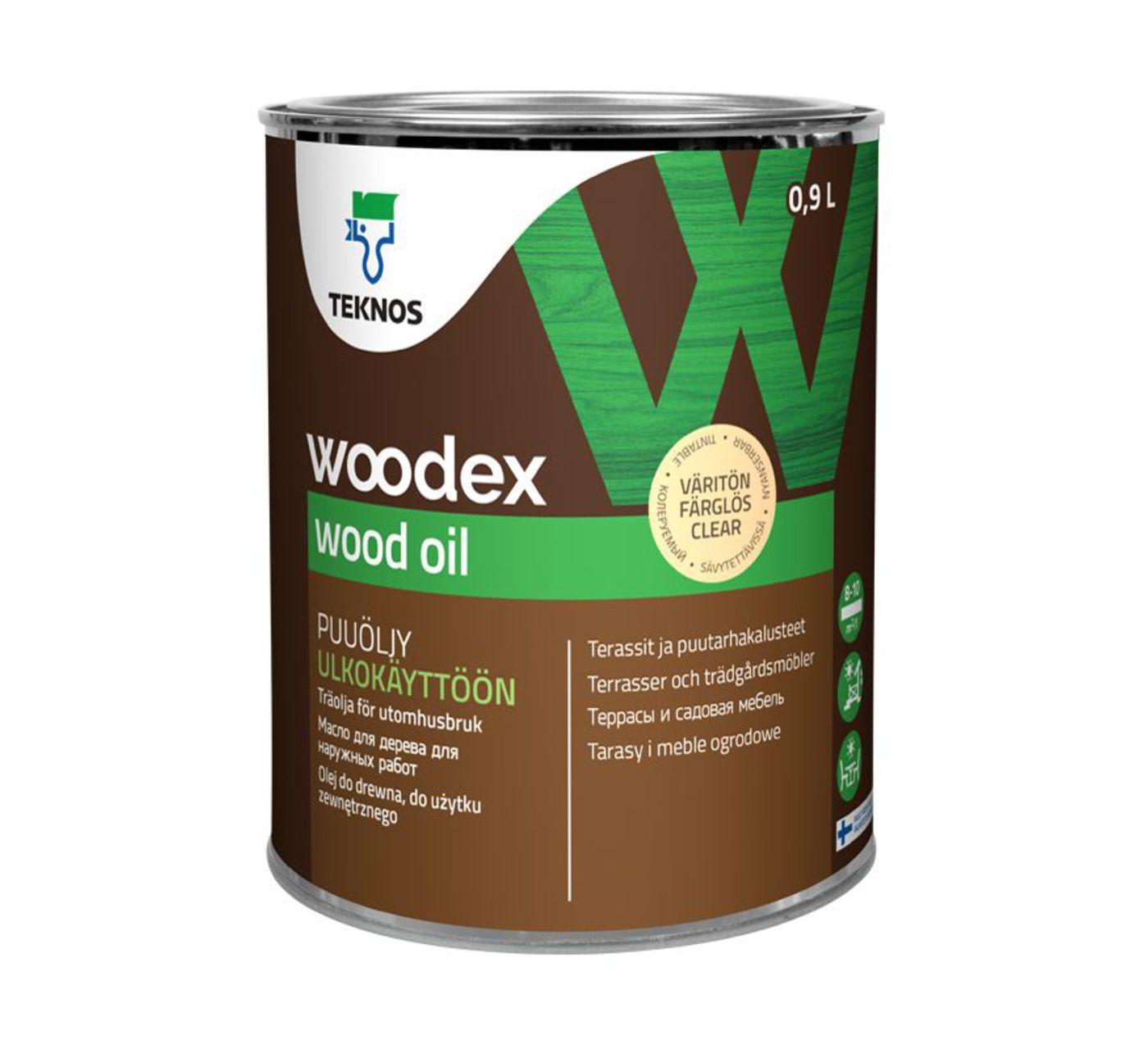 WOODEX WOOD OIL Масло для дерева  коричневое