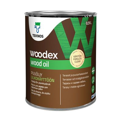 WOODEX WOOD OIL Масло для дерева  коричневое